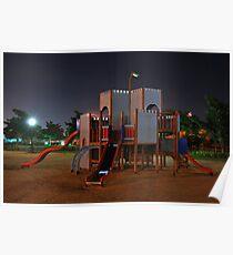 Night Playground Poster