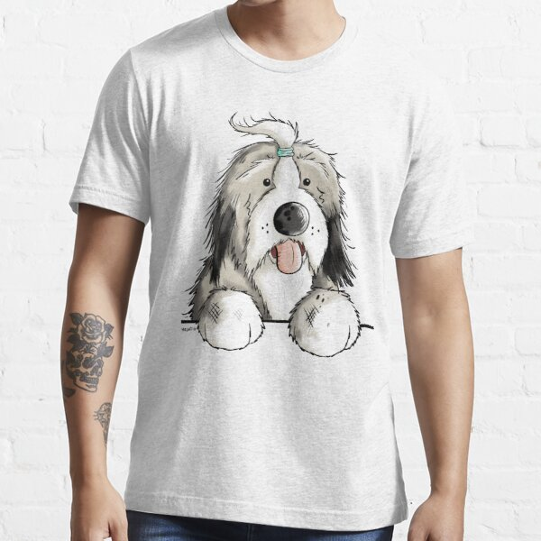 Happy Bearded Collie Essential T-Shirt