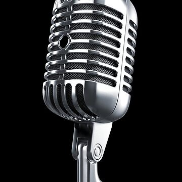 Vintage Microphone by reapolo