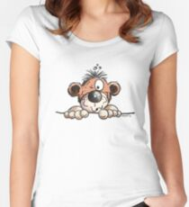Nosy Monkey Women's Fitted Scoop T-Shirt