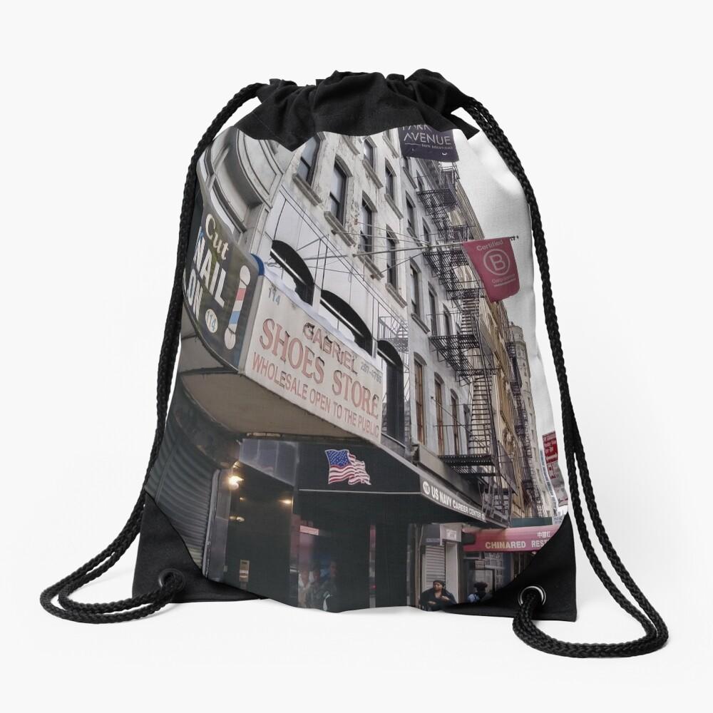 Building Drawstring Bag