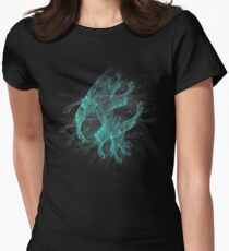 Demon Dog Skull - Abstract Collection Women's Fitted T-Shirt
