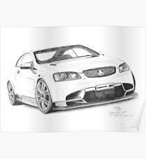 2008 Holden Coupe 60 Concept Poster