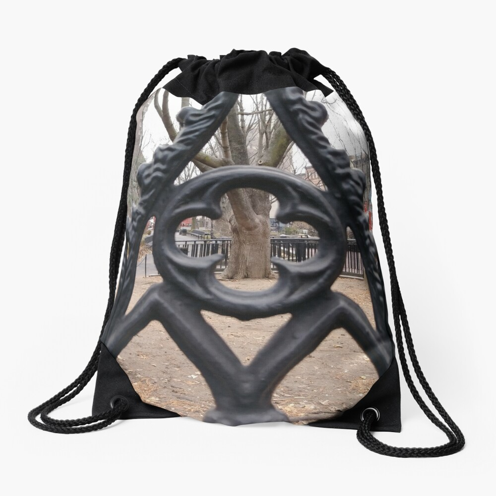 Pattern Drawstring Bag