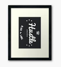 Hustle Athletics Black Label Framed Print