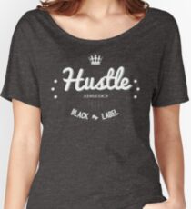 Hustle Athletics Black Label Women's Relaxed Fit T-Shirt