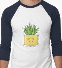 Little aloe friend ;) Men's Baseball ¾ T-Shirt