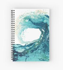 Ocean Wave Kunstdruck Bild - Türkis Sea Surf Beach Decor Spiralblock