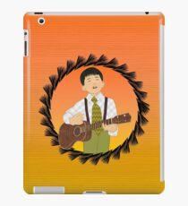 Ukulele musician iPad Case/Skin