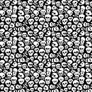 Skull Pattern Fun Skulls by Carl Huber