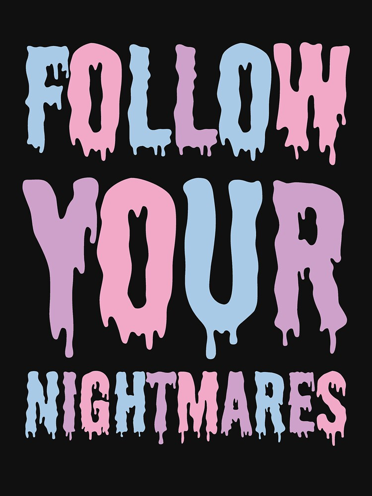 Pastel Goth / Follow Your Nightmares / Kawaii by altees