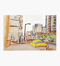 Architecture Drawings Photographic Print