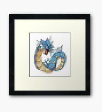 8-bit Pokemon Framed Print