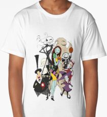 the nightmare before christmas Long T-Shirt