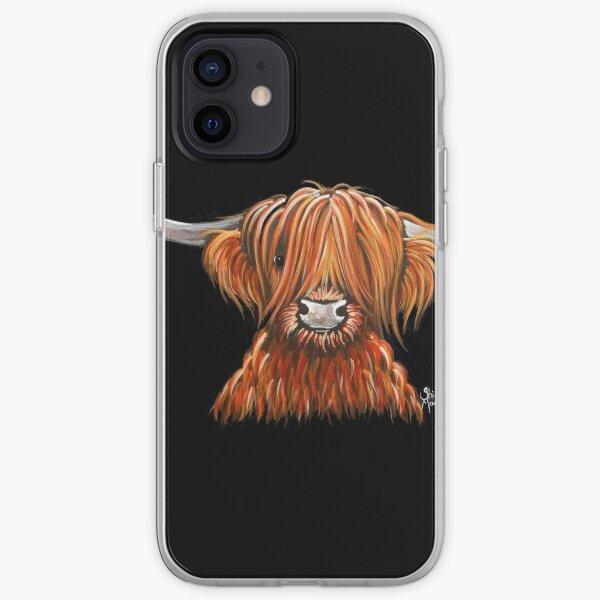 Voici une autre de mes impressions de vache poilue des Highlands «HARLEY».  J'espère que vous l'aimez!  Bonne journée ............. Shirley x Coque souple iPhone