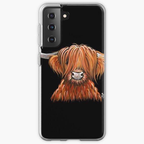 Aquí hay otra de mis impresiones HARLEY de Hairy Highland Cow Prints.  ¡Espero que te guste!  Que tengas un buen día ............. Shirley x Funda blanda para Samsung Galaxy