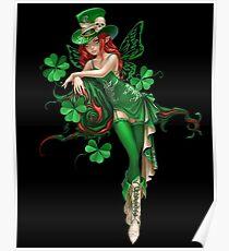 St. Patrick's Lucky Shamrock Fairy Poster
