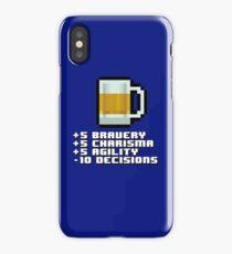 BEER STATS iPhone Case
