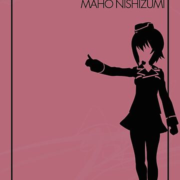 Maho Nishizumi by the-minimalist
