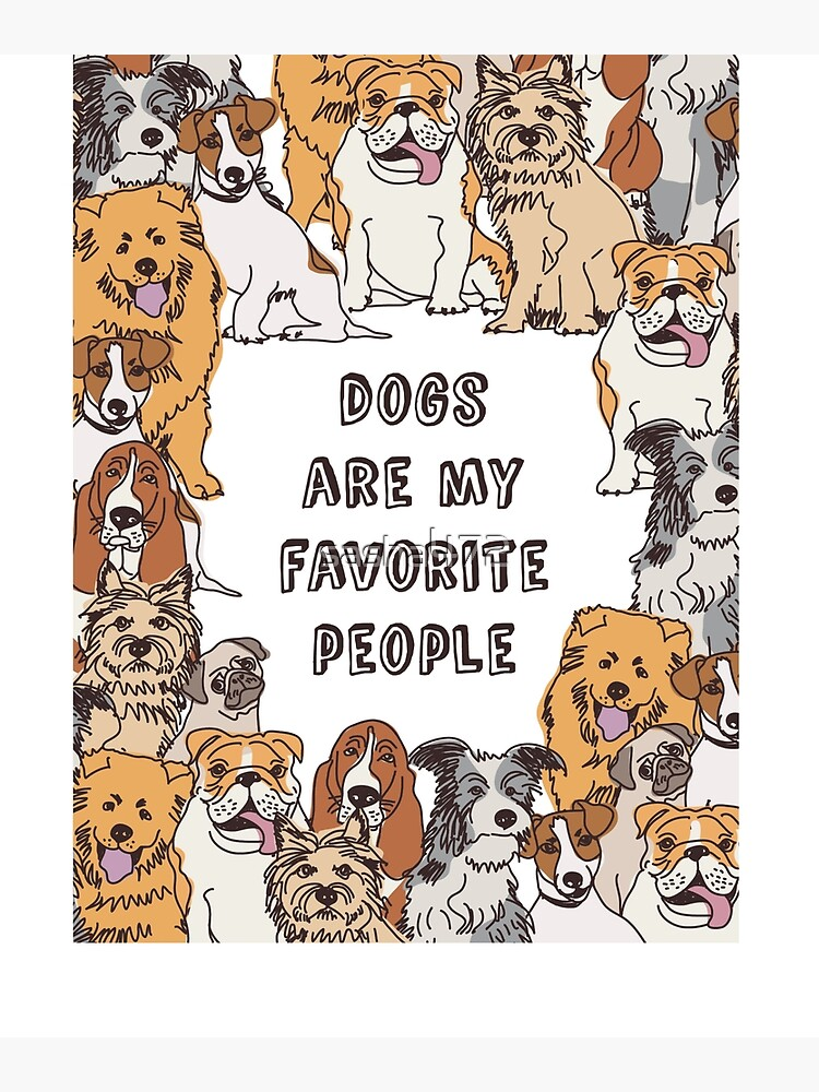 Funny Dog Quotes | Canvas Print