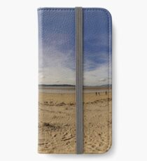 Lisfannon Beach, Fahan, County Donegal, Equirectangular  iPhone Wallet/Case/Skin