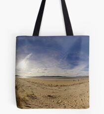 Lisfannon Beach, Fahan, County Donegal, Equirectangular  Tote Bag