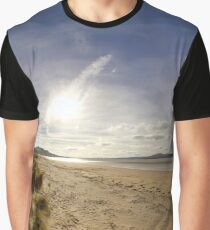Lisfannon Beach, Fahan, County Donegal, Equirectangular  Graphic T-Shirt