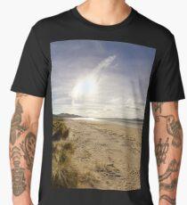 Lisfannon Beach, Fahan, County Donegal, Equirectangular  Men's Premium T-Shirt