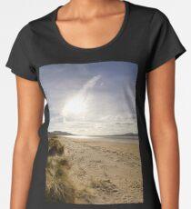 Lisfannon Beach, Fahan, County Donegal, Equirectangular  Women's Premium T-Shirt