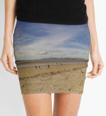 Lisfannon Beach, Fahan, County Donegal, Equirectangular  Mini Skirt