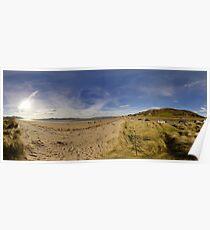 Lisfannon Beach, Fahan, County Donegal, Equirectangular  Poster