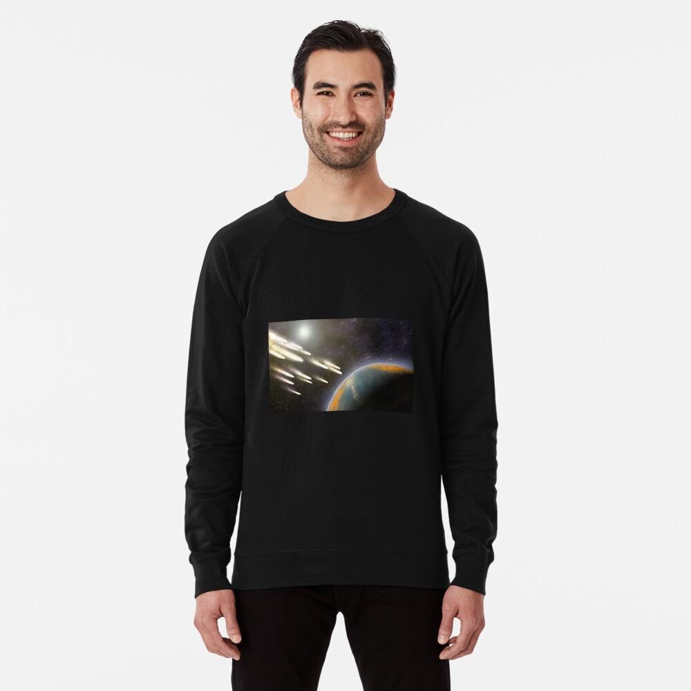 Kometenbeschuss der Erde Leichter Pullover