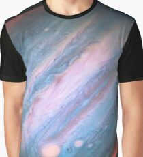 Jupiter in Infrared from Hubble Graphic T-Shirt