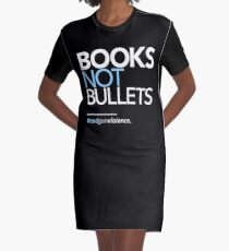 Books Not Bullets, March for Our Lives Graphic T-Shirt Dress