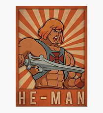 He-man Photographic Print