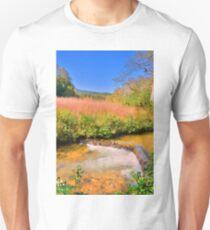 Mountain Stream Vertical Unisex T-Shirt