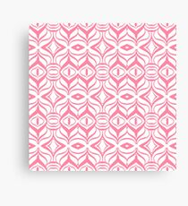 Pink Retro Canvas Print