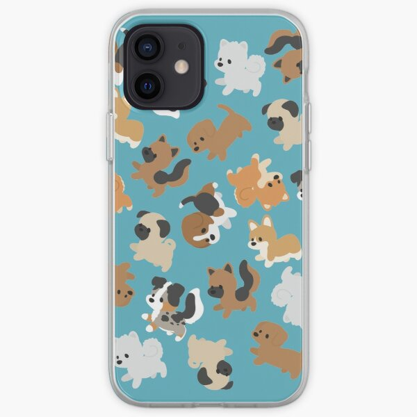 Chibi Puppers iPhone Soft Case
