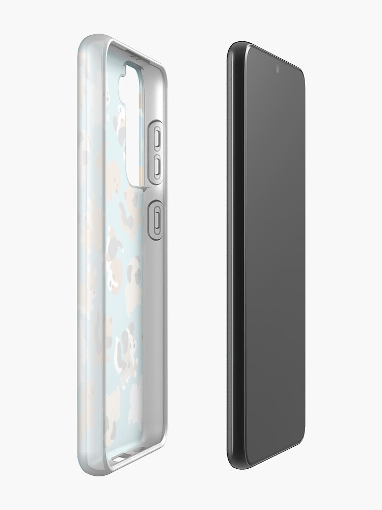 Alternate view of Chibi Puppers Case & Skin for Samsung Galaxy