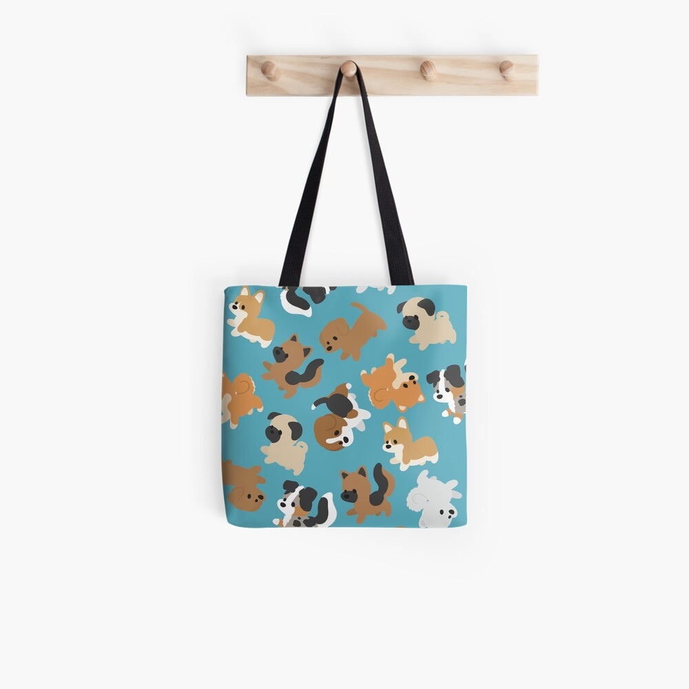 Chibi Puppers Tote Bag