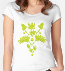 Floral ornament, flower Women's Fitted Scoop T-Shirt