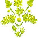 Florales Ornament, flower von einechtervogel