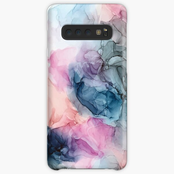 Heavenly Pastels 1: Original Abstract Ink Painting Samsung Galaxy Snap Case