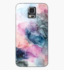 Himmlische Pastelle 1: Original abstrakte Tuschmalerei Hülle & Skin für Samsung Galaxy