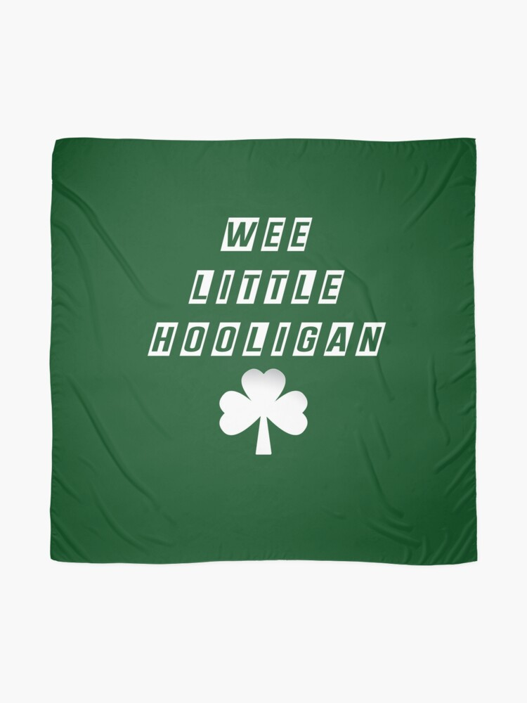 Wee Little Hooligan Bodysuit Baby Shower Gift Funny Boy Girl Irish Ireland Soccer Clover St Patrick/'s Geek Cute Uncle Grandma Grandpa