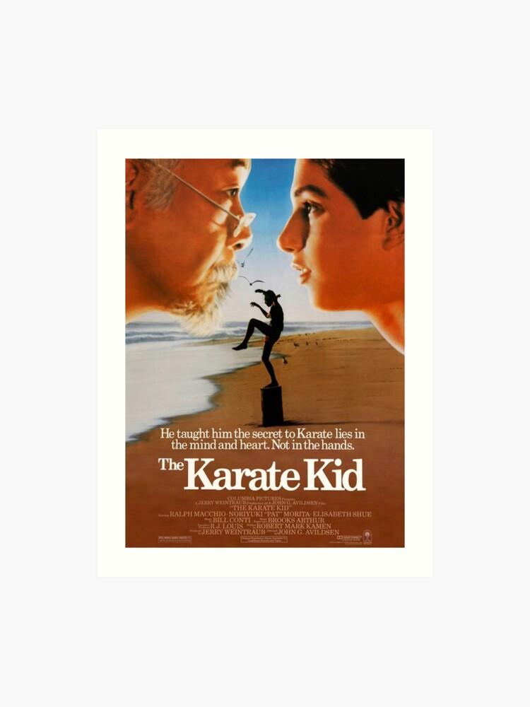 Odzież, Buty i Dodatki T-shirty 80's Classic The Karate Kid Poster Art custom tee Any Size Any Color