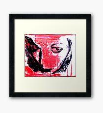 Self Fragment Framed Print