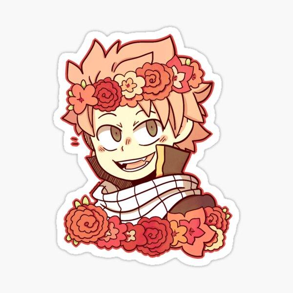 Natsu Flower Crown sticker Sticker