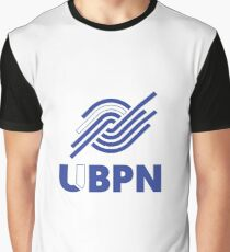 Blue and White UBPN Logo  Graphic T-Shirt