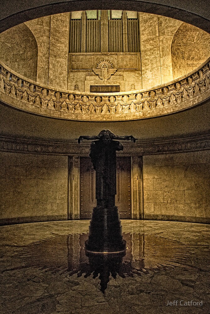 Sacrifice - The ANZAC War Memorial - Sydney by Jeff Catford